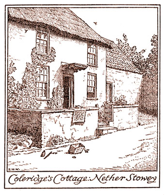Coleridge Cottage by Edmund New